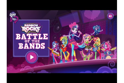 MLP:Equestria Girls - Equestria Girls Rainbow Rocks Battle ...