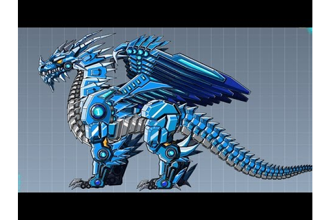 Robot Ice Dragon Game - Kids Robot Dinosaur Games - YouTube