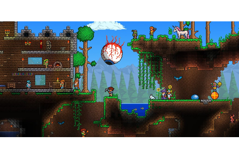 Hands On: Here's What The 3DS Version Of Terraria Looks ...