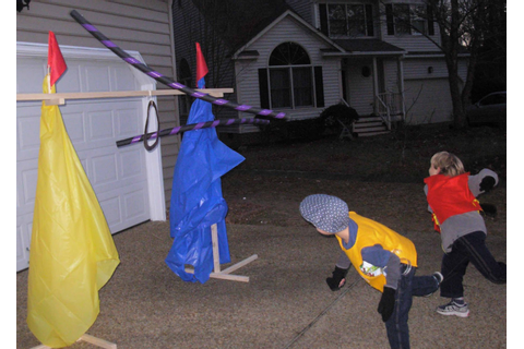 Crack of Dawn Crafts: Knight Party Game: Joust Practice ...
