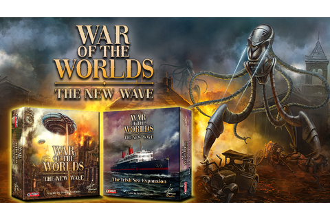 War of the Worlds: The New Wave Game by Grey Fox Games ...