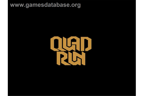 Quadrun - Atari 2600 - Games Database