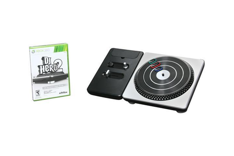 DJ Hero 2 Turntable Bundle Xbox 360 Game - Newegg.com
