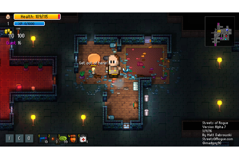Streets Of Rogue Is A Roguelike You Can Talk, Bribe Or ...