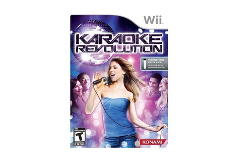 Karaoke Revolution Bundle Wii Game - Newegg.com