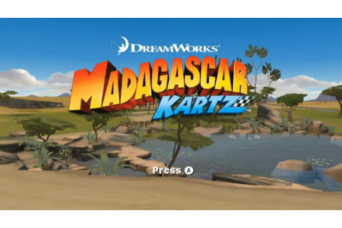 Madagascar Kartz Wii Gameplay - YouTube