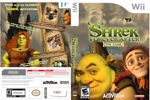 Shrek Forever After The Game DVD NTSC Custom f | Wii ...