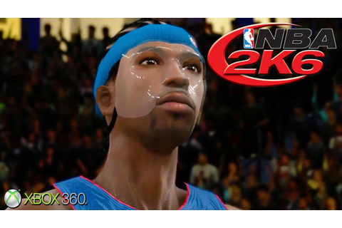 NBA 2K6 - Gameplay Xbox 360 (Release Date 2005) - YouTube