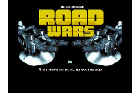 Amiga Games on winuae - RoadWars - YouTube
