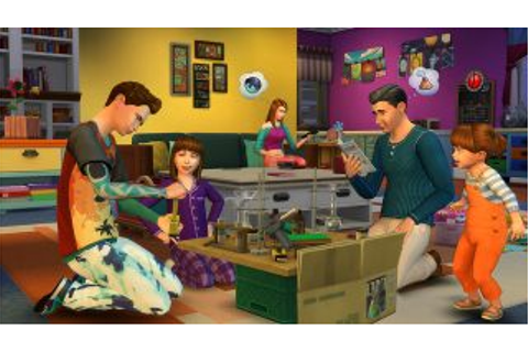 Become a Better Sim Parent with The Sims 4 Parenthood Game ...