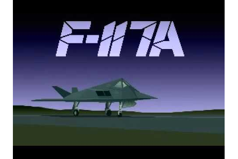 Game Intro F-117A Nighthawk Stealth Fighter 2.0 (with ...