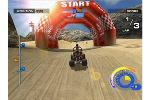 ATV Quad Power Racing 2 Review / Preview for PlayStation 2 ...