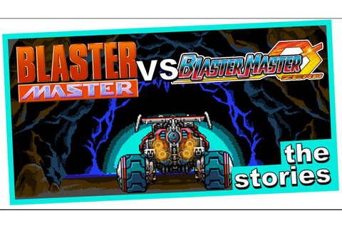 Blaster Master vs Blaster Master Zero: How do the Stories ...