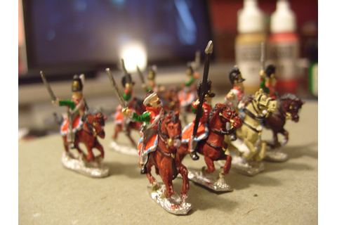 Bunny's Wargame Rantings: New Painting Style for Napoleonics
