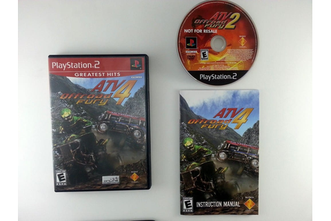 ATV Offroad Fury 4 game for Playstation 2 (Complete) | The ...