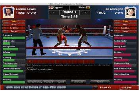 Title Bout Championship Boxing 2013 Now Available | Indie ...