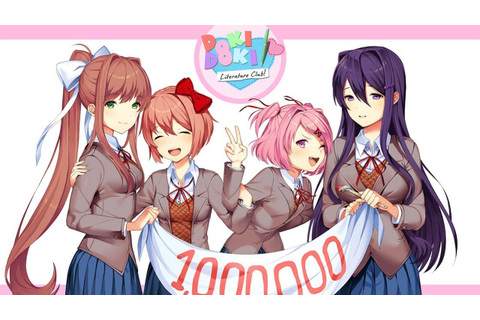 Doki Doki Literature Club Hits 1 Million Downloads - IGN