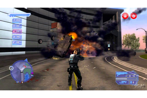 Crackdown Xbox 360 Review - Crackdown Video Review (HD ...