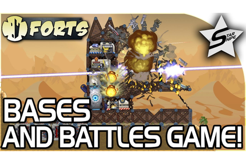 FORTS, The AMAZING SANDBOX BASES and BATTLES GAME! - Forts ...