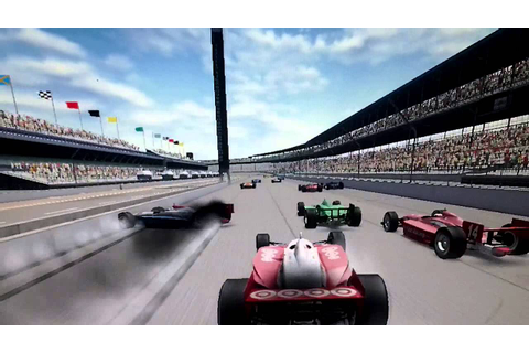 Indycar series crashes [GAME] Bad quality - YouTube