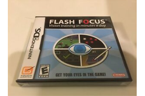Flash Focus: Vision Training in Minutes a Day (Nintendo DS ...