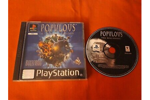 Populous Does / Have L'Aube of the Creation PS1 ...