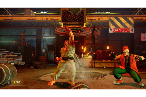 Street Fighter V Arcade Edition Update is 21GB; Servers ...