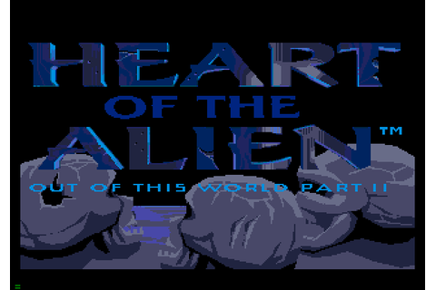 Heart of the Alien: Out of this World part II (1994) by ...