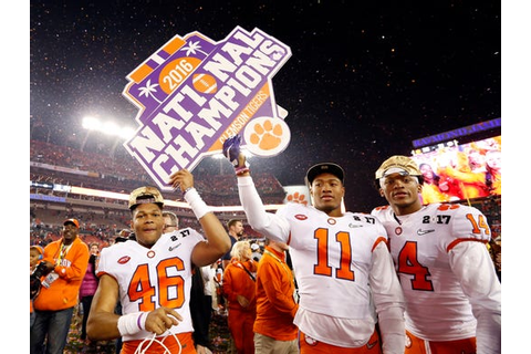Clemson shocks Alabama in the College Football Playoff ...