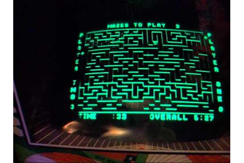 The Amazing Maze (Midway, 1976) Arcade Video Game - YouTube