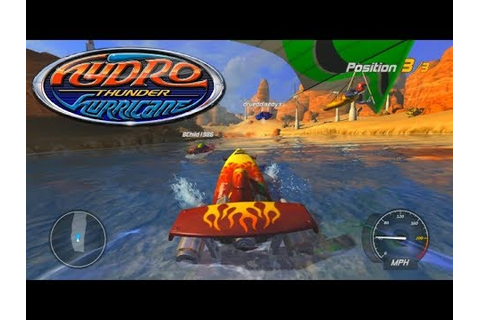 THIS GAME IS SO FUN! - Hydro Thunder Hurricane Online ...