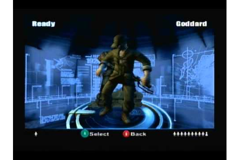 TimeSplitters: Future Perfect: Bonus 2 - Character Intros ...