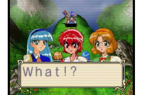 Magic Knight Rayearth Sega Saturn Game - YouTube