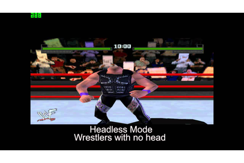 WWF Attitude Cheat Codes - YouTube