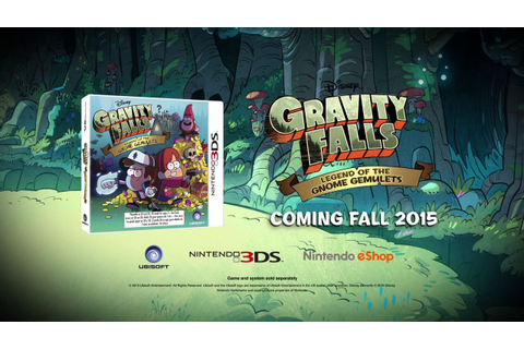 Gravity Falls - Legend of the Gnome Gemulets - 3DS Game ...