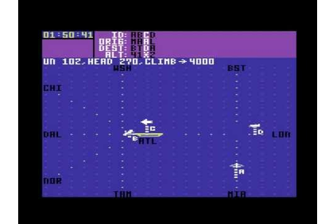 Let's play Kennedy Approach ATC - Commodore 64 - YouTube
