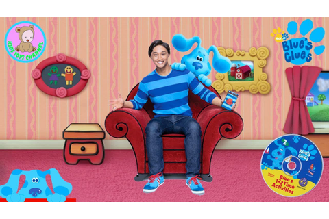 Blue's Clues 123 Time Activities - Blues Clues Game Let's ...