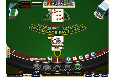 Win Slots Today: Free Game Of Blackjack
