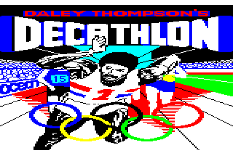 Daley Thompson's Decathlon (1985) by Choice Software ...