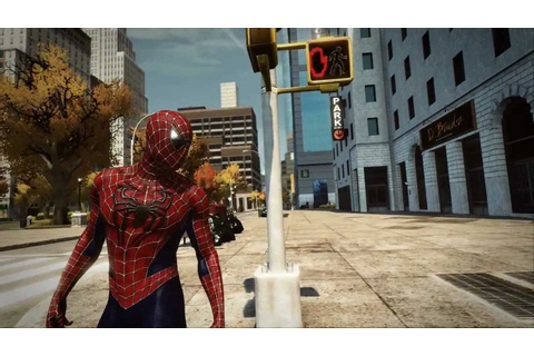 The Amazing Spider-Man PC Game - Raimi Classic Red & Blue ...