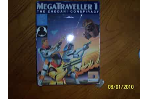 Amazon.com: MegaTraveller 1 (The Zhodani Conspiracy) IBM 5 ...