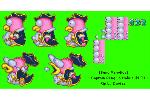 PlayStation - Sexy Parodius - Captain Penguinovski III ...