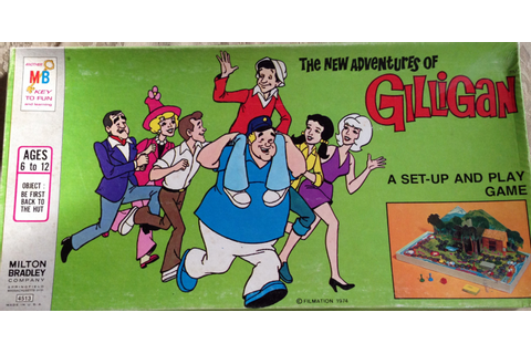 Spin Again Sunday: New Adventures of Gilligan Game (1974 ...