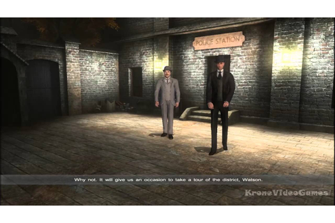 Sherlock Holmes versus Jack the Ripper Gameplay PC HD ...