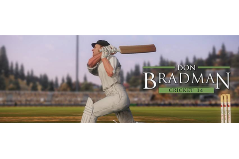 Don Bradman Cricket 14 to release in April