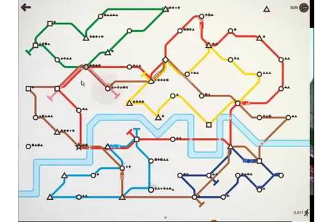Mini Metro the best score 4188p 92 days HD - YouTube
