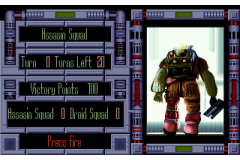 Laser Squad (1992) by Krisalis Software / Target Games MS ...