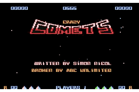 Game: Crazy Comets [Commodore 64, 1985, Martech] - OC ReMix