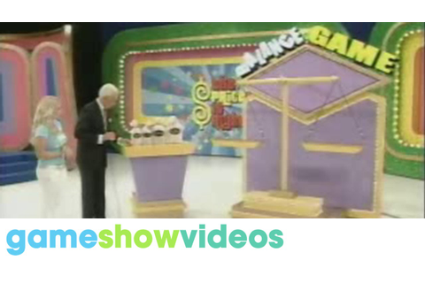 The Price is Right - Balance Game 10th Anniversary - YouTube