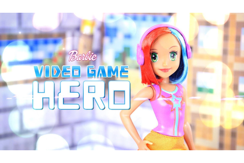 Unbox Daily: Barbie Video Game Hero - Doll Review - 4K ...